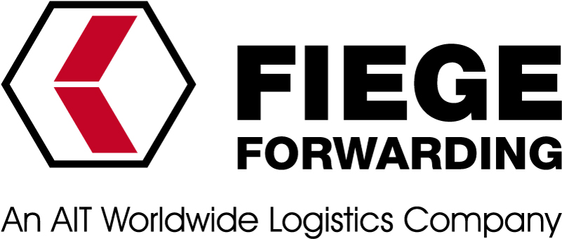 Logo Fiege Forwarding and AIT Wordwide Logistics