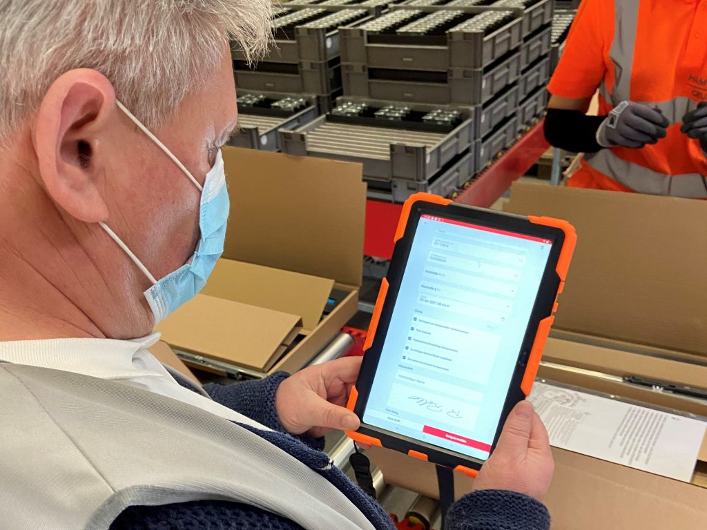 Quality Management with Tablets